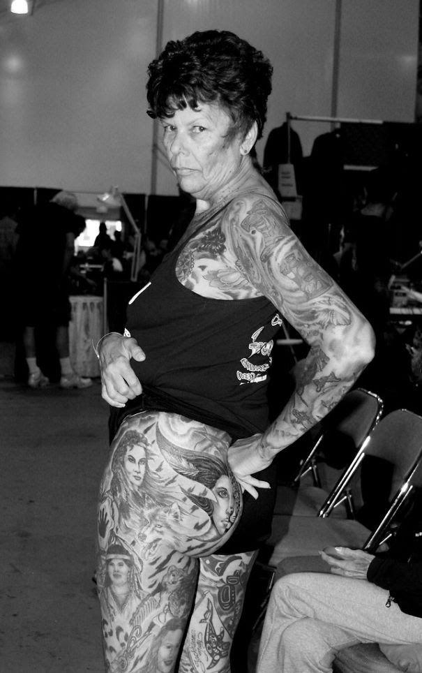 Personas mayores contestan la clásica pregunta de cómo lucirán tus tatuajes cuando tengas 60 años