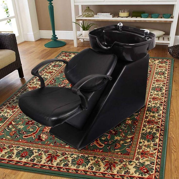 Aoxun shampoo backwash chair abs plastic shampoo bowl sink