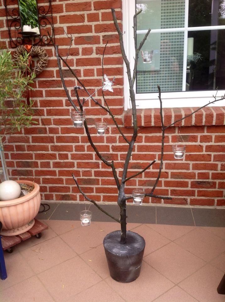 Teelichterbaum