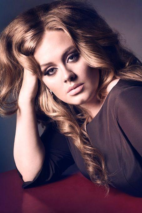 Adele in Vogue: Adele Gorgeoushair, Adele Smoke Eyes, Adele For, Adele S Hair, Adele S Eyes, Adele Hair, Adele Beauty, Adele Beautiful