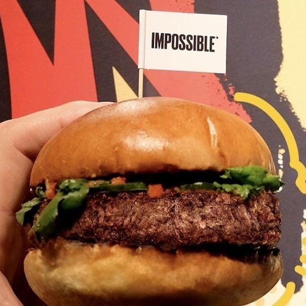 Applebee S Adds Vegan Impossible Burger To Menu Impossible Burger Burger Vegan Burgers