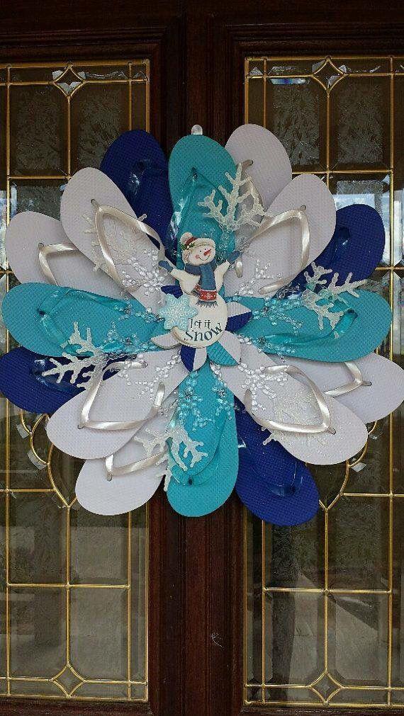 Flip Flop Wreath!