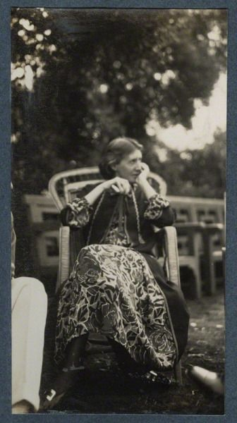 Virginia Woolf by Lady Ottoline Morrell, June 1926