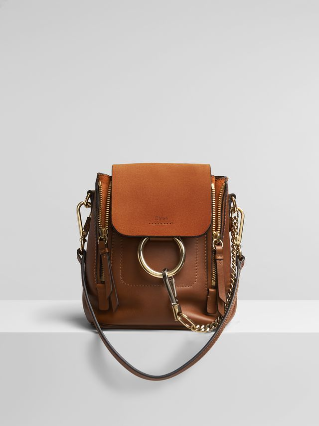 Mini Faye Backpack Faye Bag Chloe Faye Backpack Leather Satchel Handbags