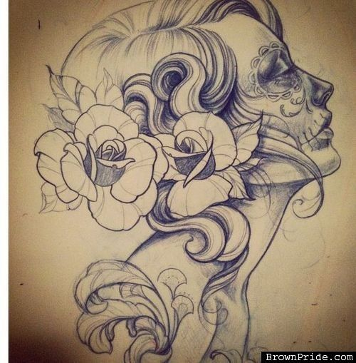 Endless Day of the Dead Tattoos | Tattoos Beautiful