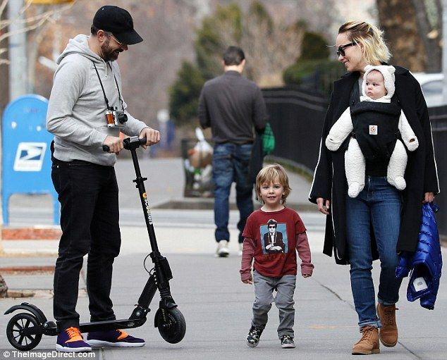 Family time! On Sunday, Olivia Wilde, 32, and fiance Jason Sudeikis, 41, took son Otis, two, and daughter Daisy, four months, out for a fun-filled day in New York