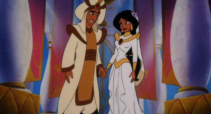 Jasmine wedding dress disney princesses wedding dresses for Jasmine wedding dress disney