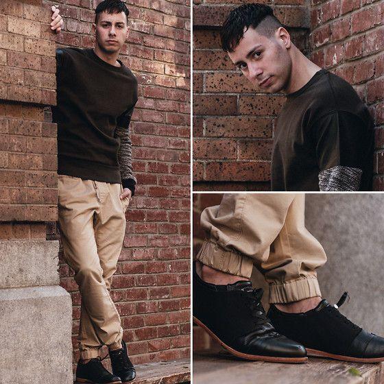 Zara Sweater, Hot Topic Joggers, Royal Elastics Shoes