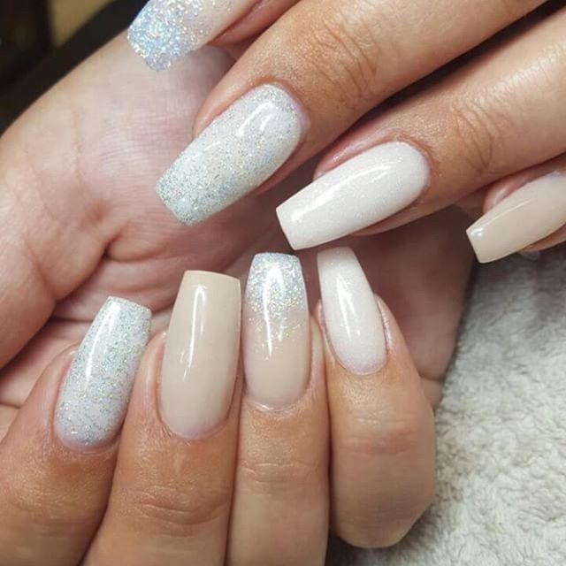 #Repost @tammytaylornailssouthafrica ・・・ Flawless Tammy Taylor nails Done by Michelle. Using Cashmere acrylic Prizma, micro diamonds and dramtic White acrylic.  For More Pics like this- Visit our instagram on @tammytaylornailssouthafrica Cruelty Free and