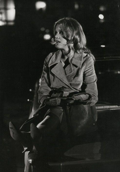 Jane Fonda by William Claxton, 1960's