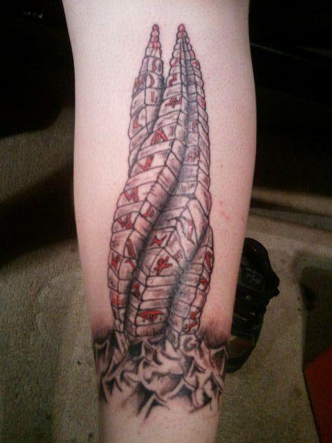 Jason's First Blog: Dead Space Marker Tattoo | Dead space ...