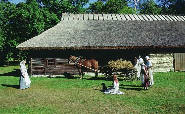 Old Estonians, turn of 20th c.