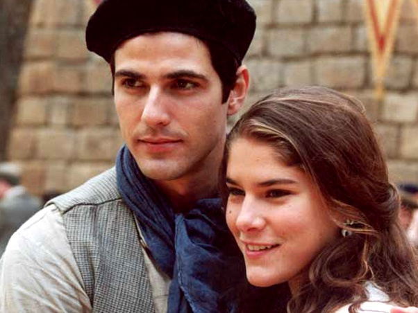 Reynaldo Gianecchini e Priscila Fantin na novela Esperança da Rede Globo.