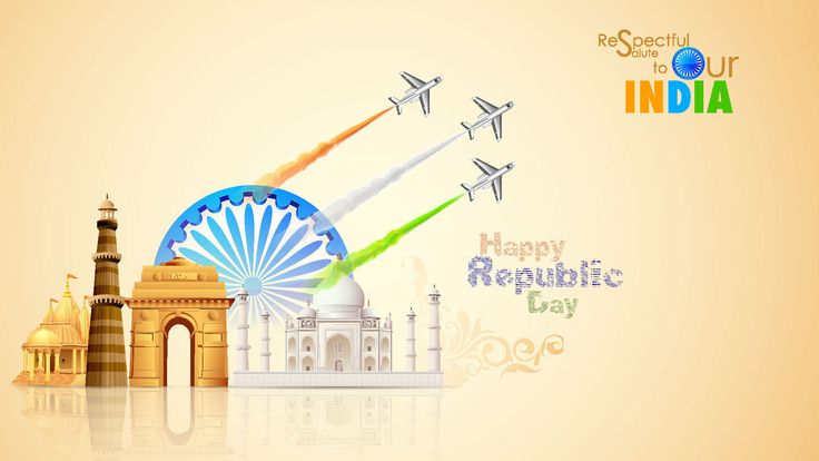 2016 Happy 67th Republic Day Wishes Images Whatsapp Status Dp Sms Flag Wallpapers:Republic day is an important day in India. It's when the Indian constitution was written on Jan 26th 1950.This d…
