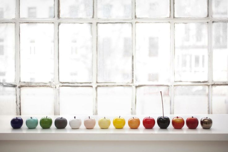 @Bull&Stein #ceramic apples 2014 #colors