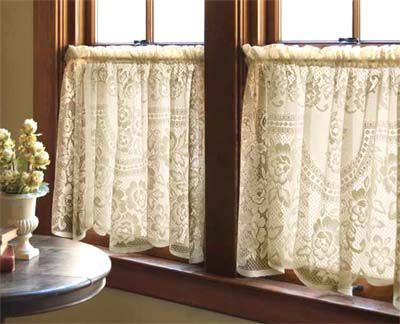 victorian curtain (I will always love the Cafe Curtain look I had them in our 1st home and love the look)