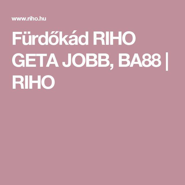 Fürdőkád RIHO GETA JOBB, BA88 | RIHO