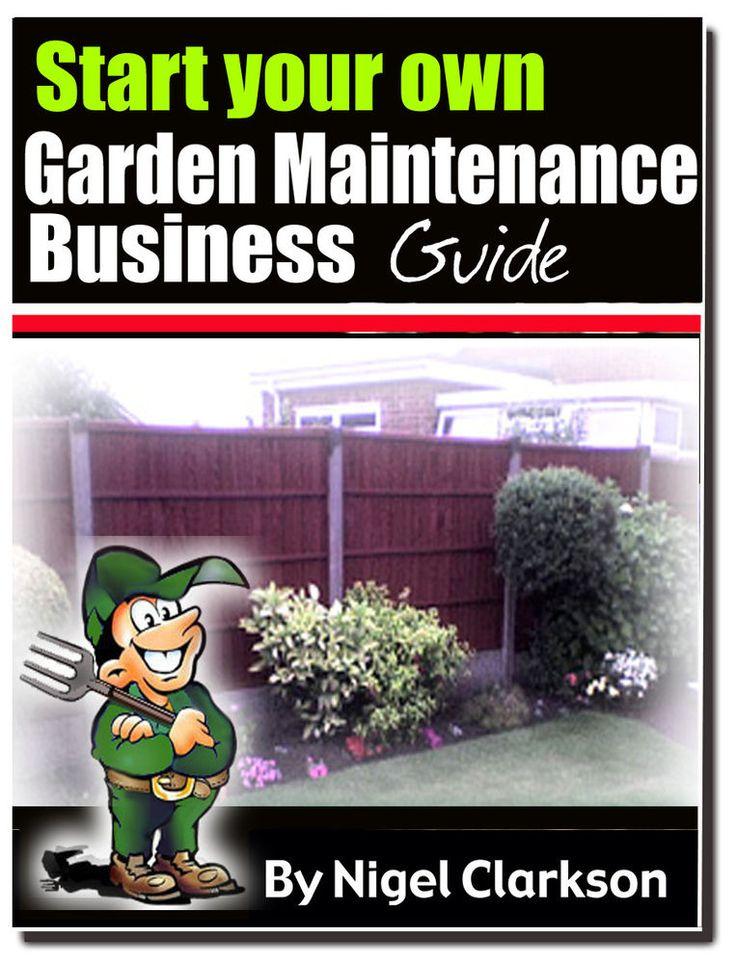 Start your own garden maintenance business garden for Garden maintenance business