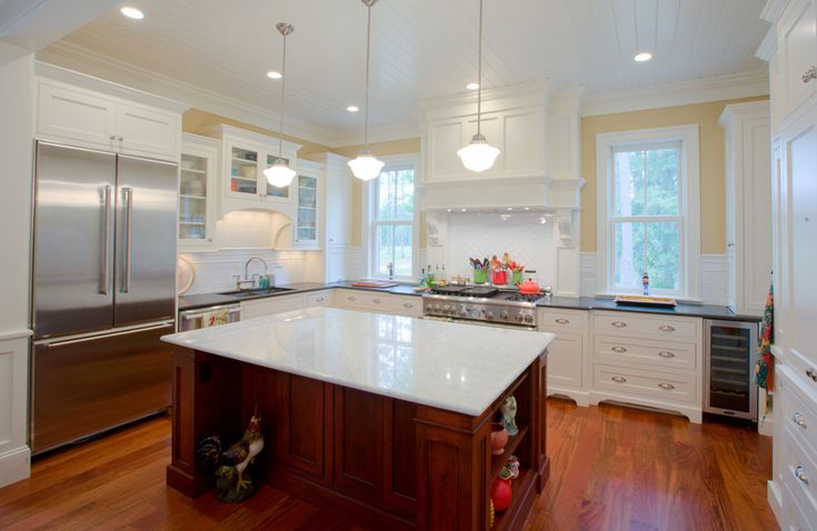 island in the kitchen pictures 11 best watermark coastal homes llc images on 7597