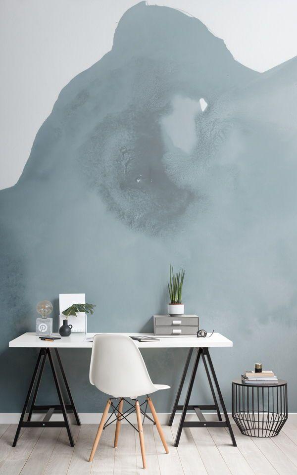 Creazione Di Un Ufficio A Casa In Stile Scandinavo Minimalista Con I