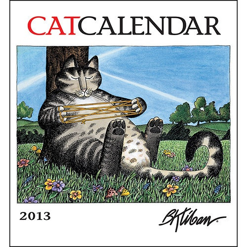 Catcalendar Cats : The Complete Collection by B. Kliban (1981, Hardcover)