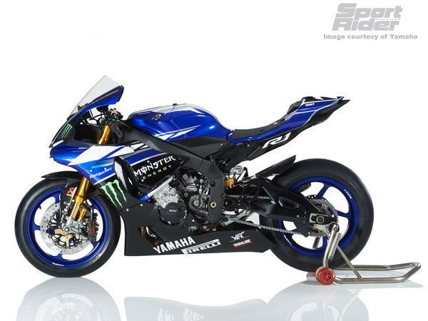 Image gallery of 2015 Yamaha YZF-R1 race equipment, including machines from the European Superstock, World Endurance, British Superbike and IDM German Superbike championships