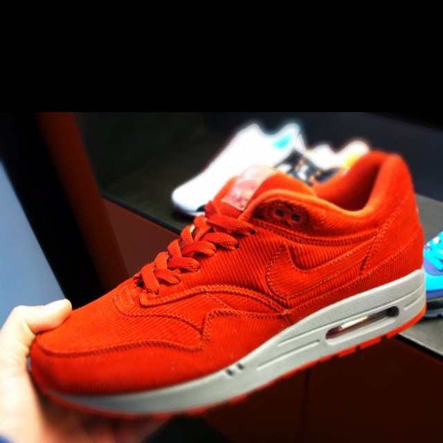 Nike Air Max 1 ID Red Cord