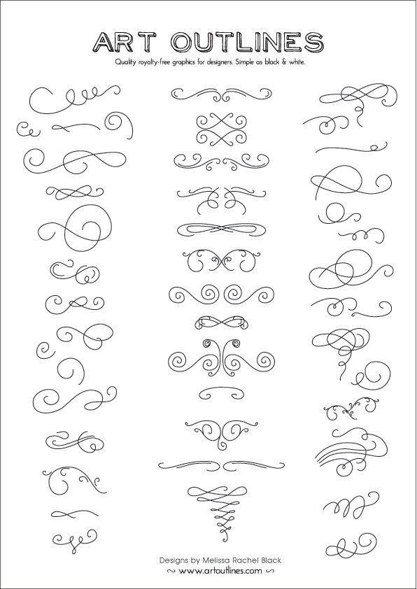 Différentes types de lignes