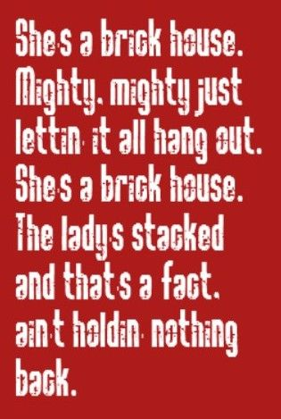 Lionel Richie - Brick House - song lyrics, music lyrics, song quotes, music quotes, songs