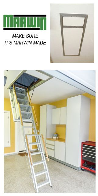 electronic attic ladders and electronic stairways offered by the marwin company attic access by having a fully controlled