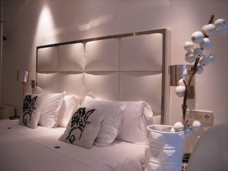 Las 25 mejores ideas sobre cabeceros de cama tapizados en - Cabecero de cama acolchado ...