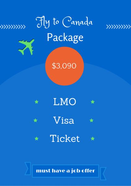 Fly to Canada Package