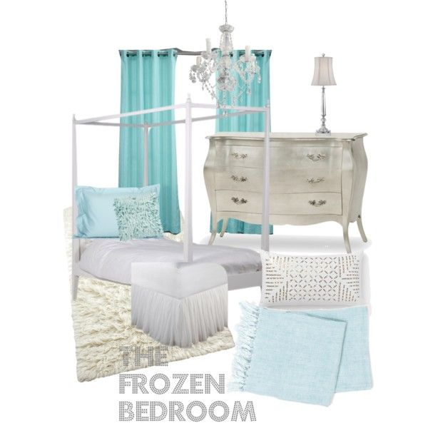 """""""Frozen inspired bedroom"""" by misschriscarl on Polyvore"""