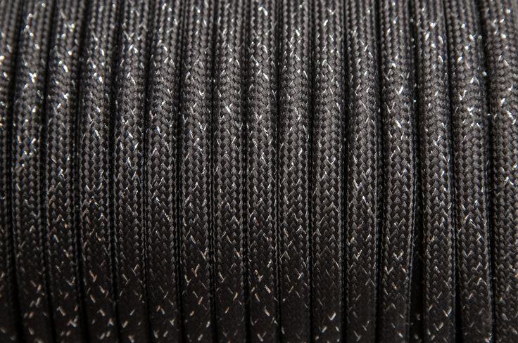 Rendelj tilka csillogó grafit textilkábelt méterre vagy kérd design lámpaként, hosszabbítóként. tilka.hu