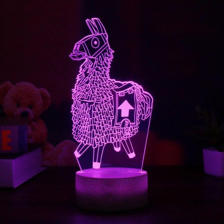 Loot Llama Led Night Lamp Baby Room Diy Led Night Lamp Boys Bedroom Decor