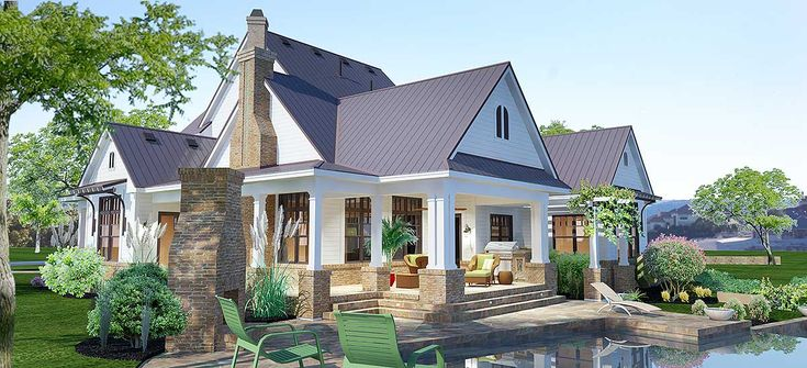 17 best images about dream homes on pinterest farmhouse for Farmhouse plans with bonus room