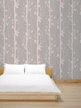 Superfresco Texture Solitude Mocha Beige Wallpaper | very.co.uk