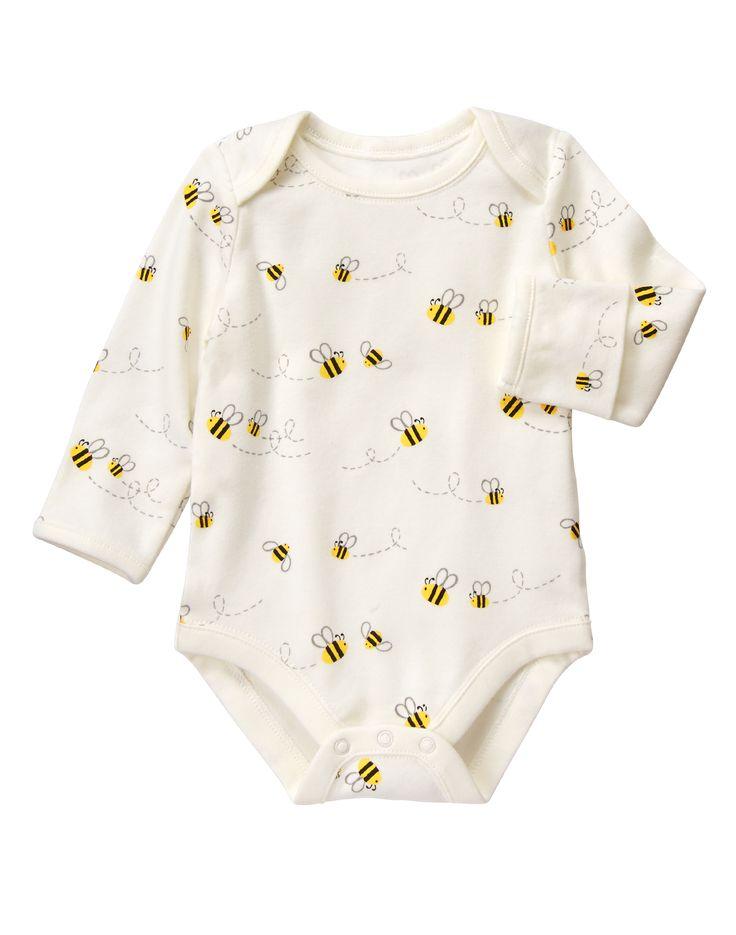 Bee Print Bodysuit