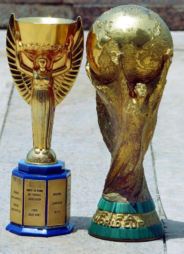World Cup Trophy Coupe Du Monde Jules Rimet Trophy Copa Do Mundo Fifa Selecao Brasileira De Futebol Futebol Brasileiro
