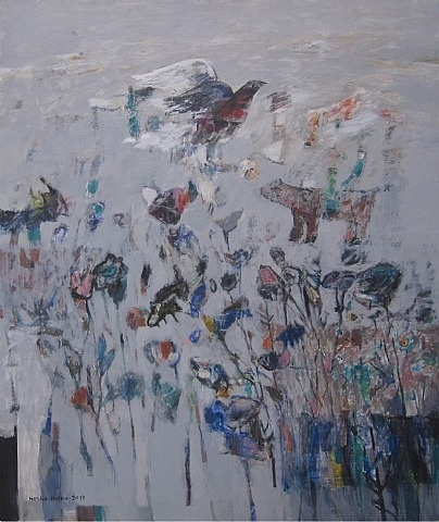 artnet Galleries: Flowers in the Ashes by Hasko Hasko from Art on 56th