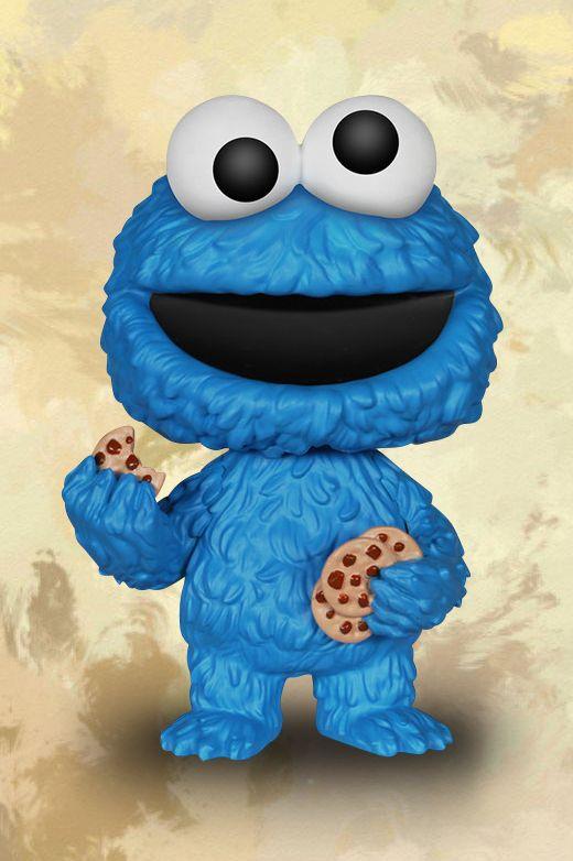 """Du stehst auf die #Sesamstraße mit #Ernie, #Bert, #Krümelmonster und Co.? Dann hol dir diese 10 cm hohe """"Funko Pop!- Cookie Monster"""" Figur. Besonders cool: der Kopf ist seitlich beweglich und dein #Cookie Monster wird dir in einer praktischen Fensterbox geliefert. #funkopop #empstyle"""