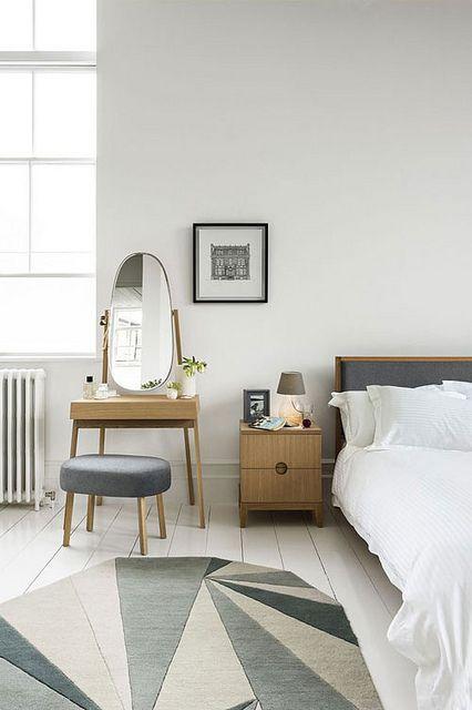 bedroom with vanity
