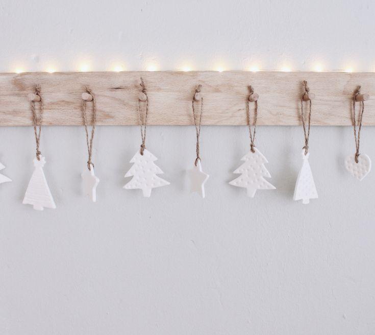 DIY Weihnachtsbaumschmuck aus Speisestärke und Natron