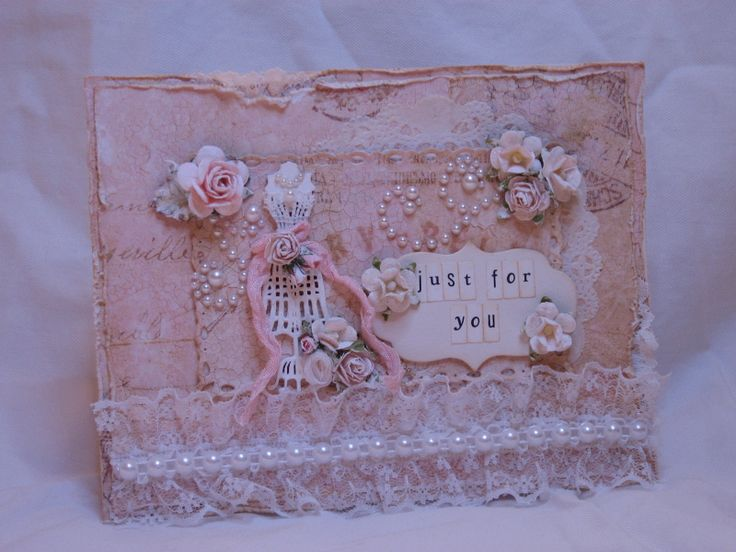 16 best Shabby Chic Cards images on Pinterest | Shabby chic cards ...