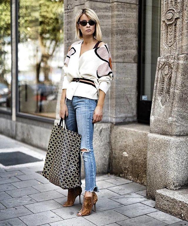 Look Con Bolsos De Temporada Lo Mejor De Street Style Fashion Casual Chic Fashion Post