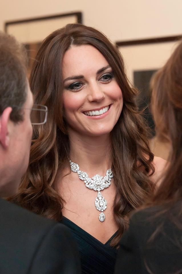Nizam of Hyderabad necklace the Duchess wore earlier this month at The Portrait Gala.