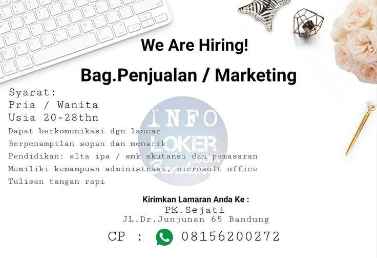 Lowongan Kerja Perusahaan Kayu Sejati Bandung Januari 2018