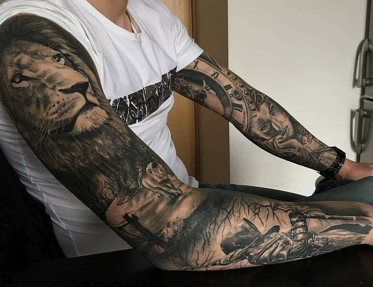 Tattoo sleeves for men