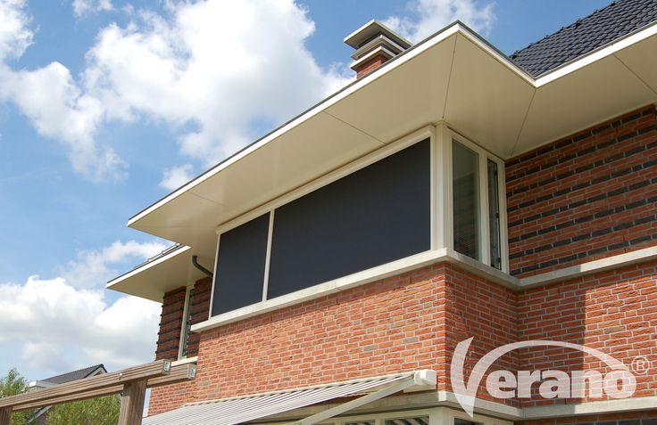 De #ritzscreens van Verano® zijn van topkwaliteit dankzij de windvaste techniek! #Verano #screens
