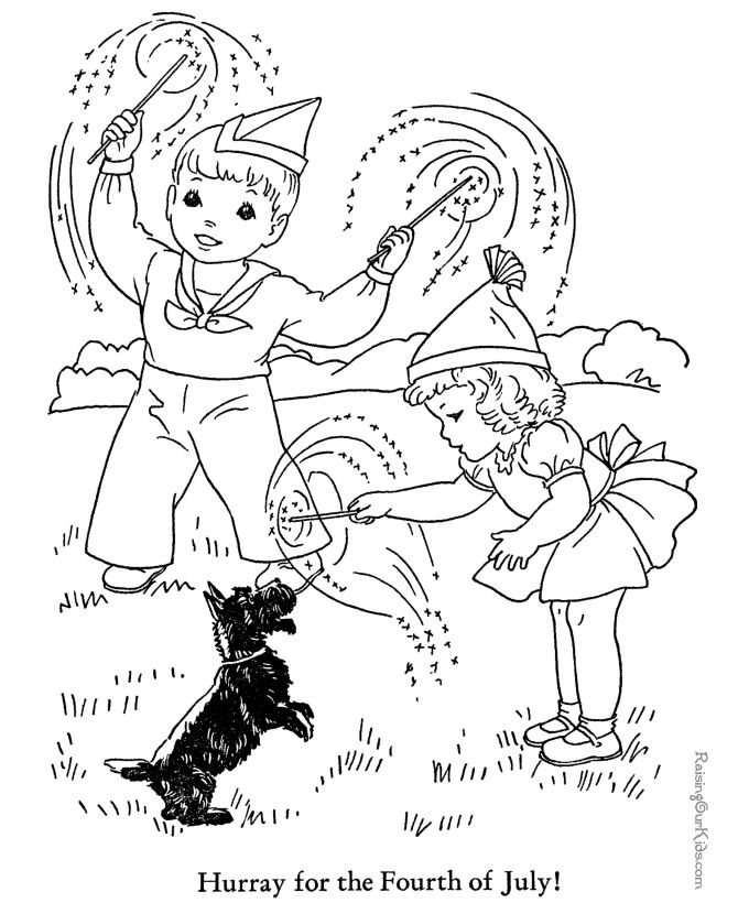 159 best Kidu0027s Summer Coloring Fun images on Pinterest Coloring - fresh coloring pages for fourth of july